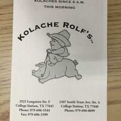 Kolache Rolf's