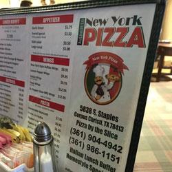 Authentic New York Pizza