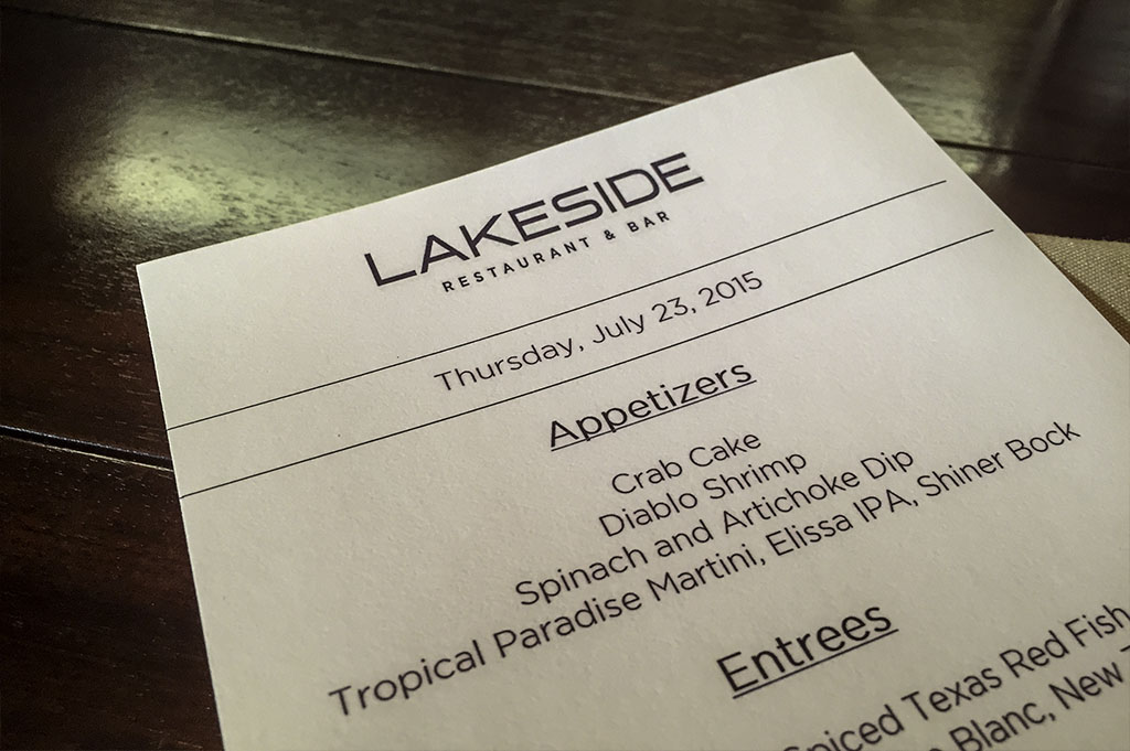Lakeside Restaurant & Bar Good Eats Conroe Local Travel Guide Mike Puckett DDM 8