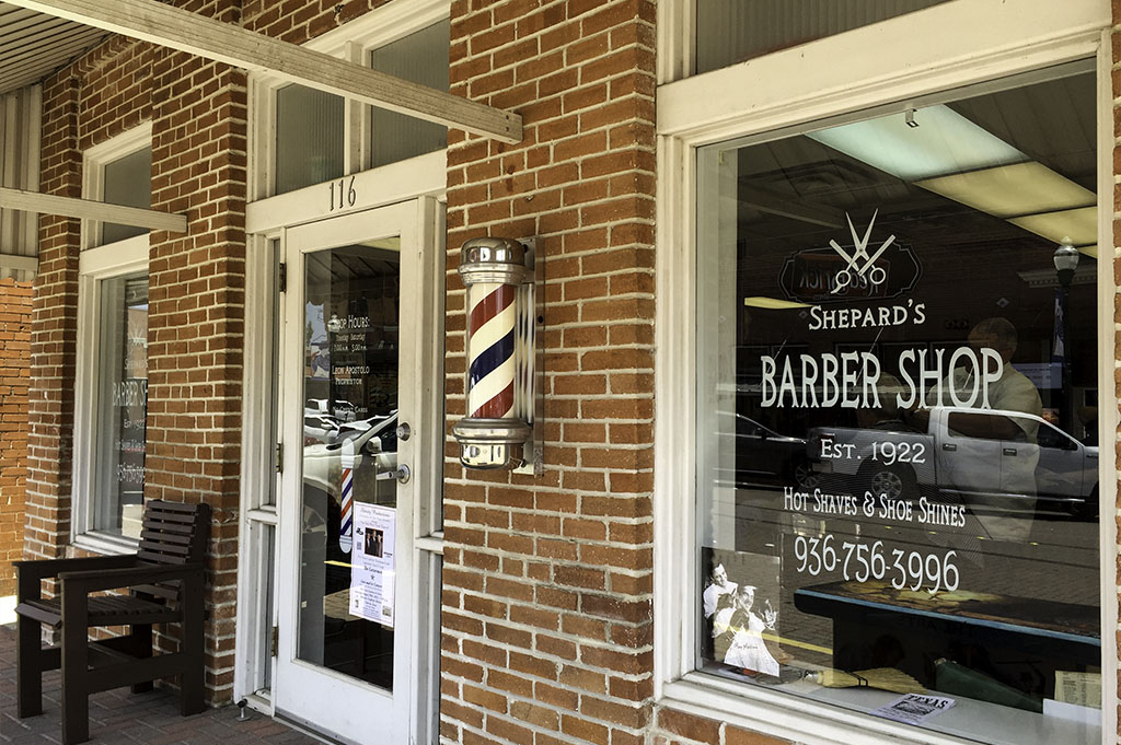 Shepard's Barber Shop Good Eats Conroe Local Trave Guide Mike Puckett DDM 2