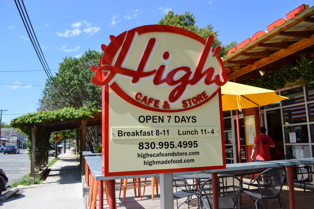 Highs Cafe Good Eats Comfort Texas Local Mike Puckett GW-2