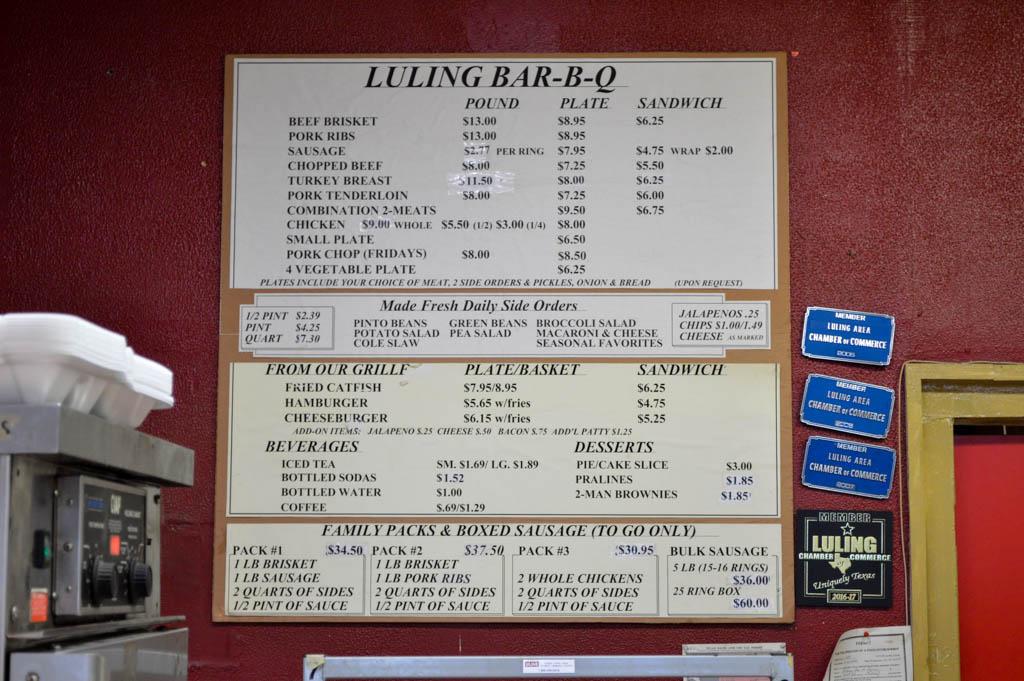 Luling Bar B Q Good Eats Luling Texas Local Mike Puckett GW-8