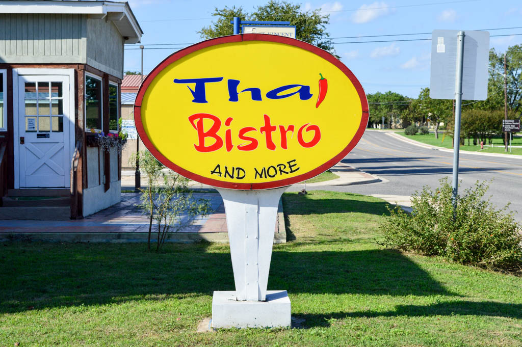 Thai Bistro and More Good Eats Kerrville Texas Local Mike Puckett GW-2