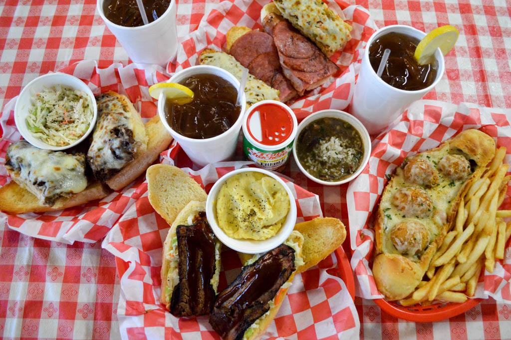 Bayou Boys PoBoys Good Eats Needville Texas Local Mike Puckett GW-19