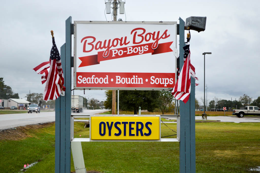 Bayou Boys PoBoys Good Eats Needville Texas Local Mike Puckett GW-2
