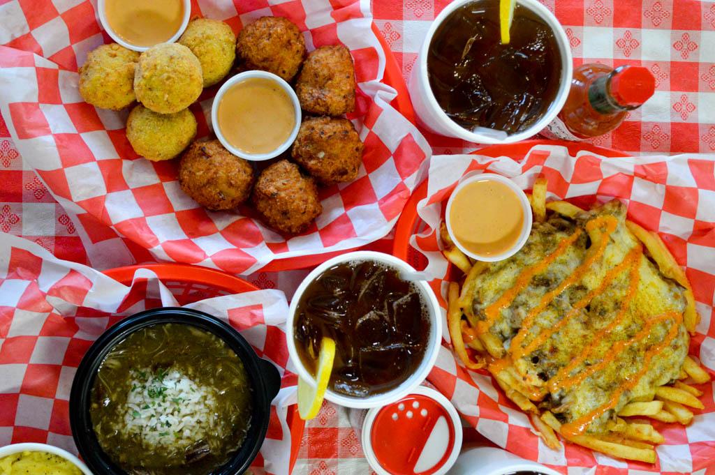 Bayou Boys PoBoys Good Eats Needville Texas Local Mike Puckett GW-6
